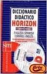 Dicc. Didactico Horizon Eng/spa - Esp/ing + Cd (Diccionarios