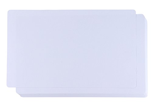 - White Cardstock - 60-Pack 150GSM White Card Stock Paper with Rounded Corners, Blank Sheets for Award Certificates, Legal Sized, 8 x 14 inches