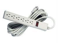 Economical Fellowes Power Strip With 6 O -2 Pack
