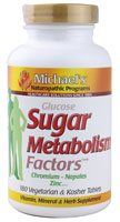 Michael's Naturopathic Programs Sugar-Glucose Metabolism Factors -- 180 Vegetarian Tablets