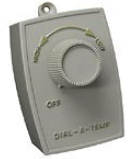 Dial-A-Temp (H9980) Plug in AC Fan Motor Control