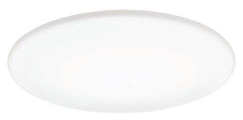 Lithonia Lighting FMXLR M2 Low-Profile 24-Inch Round Energy Star 1-Light Fluorescent Light Fixture, Milky White - Indoor Ceiling Light Fluorescent Fixture