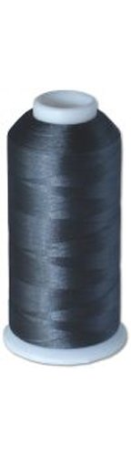 12-cone Commercial Polyester Embroidery Thread Kit -Pewter Gray P922 - 5500 yards - 40wt