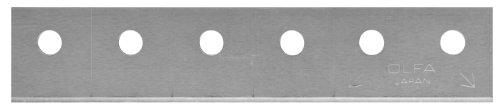 OLFA 9986 CTB-5 Carton Cutter Snap-off Blade, 5-Pack ()