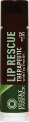 Desert Essence: Lip Rescue Tea Tree Oil, 0.15 oz