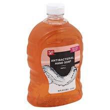 Walgreens Beauty Liquid Antibacterial Hand Soap, Refill Amber 56 oz 3 -