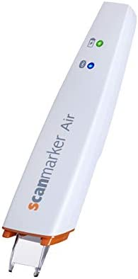 Scanmarker Air Pen Scanner - OCR Digital Highlighter and Reading Pen -  Wireless (Mac Win iOS Android) (White)