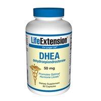 Life Extension - Dhea (déhydroépiandrostérone) - 50 mg - 60 Caps (pack de 2)