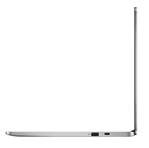 ASUS Chromebook C523NA-DH02 15.6'' HD NanoEdge Display, 180 Degree, Intel Dual Core Celeron Processor, 4GB RAM, 32GB eMMC Storage, Silver Color by ASUS (Image #4)