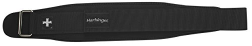 000751500033 - Harbinger Weightlifting Belt with Flexible Ultra-light Foam Core,5-Inch, Small carousel main 2