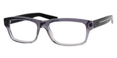 DIOR Homme Eyeglasses Blacktie 149 0M5W Gray Black - Glasses Homme Dior