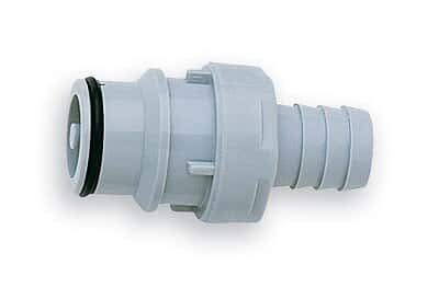 CPC (Colder) HFCD22635 Quick-Disconnect Fittings, valved Hose Barb Inserts, PES, 3/8