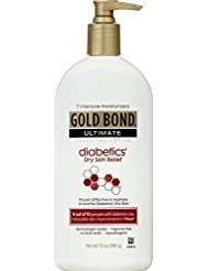 Gold Bond Ultimate Diabetic Skin Relief Lotion, 13 oz - Buy Packs and SAVE (Pack of 2) by Gold Bond