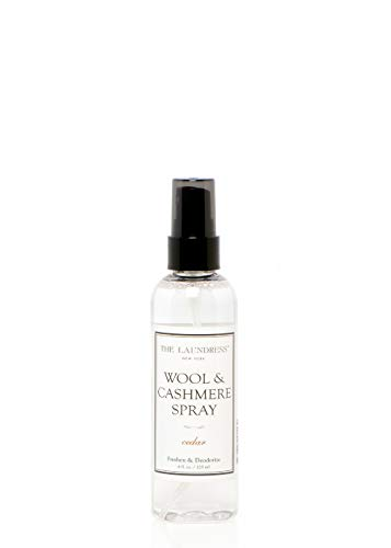 The Laundress - Wool & Cashmere Spray, Cedar, Allergen-Free, Non-Toxic Formula, Antibacterial, 4 fl oz ()