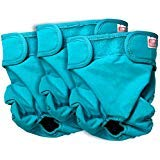 Simple Solution Washable Reusable Female Dog Diapers (Medium, 3 Pack)