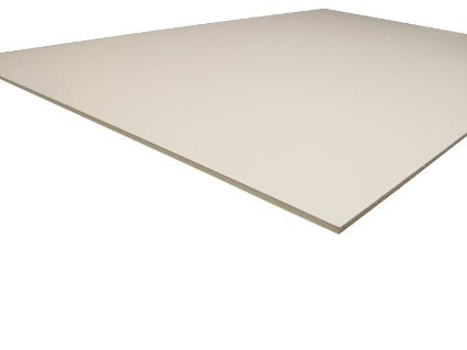 Pack of 10 16x20 3/16'' White Foam Core Backings by Gilman Brothers