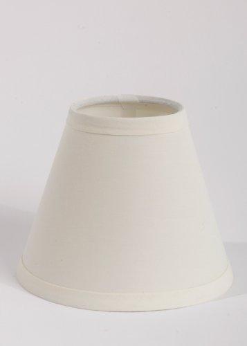 Urbanest 1100327 Mini Chandelier Lamp Shades 6-inch, Cotton,