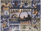 St. Louis Rams Team #23013/30,000 (Football Card) 1995 Upper Deck - Limited Edition Jumbos #STL