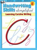 Handwriting Skills Simplified: Learning Cursive Writing, Level C (Grade 3)