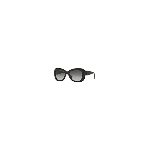 Versace Women's VE4317 Black/Light Grey Gradient/Dark Blue Sunglasses by Versace