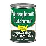 Pennsylvania Dutchman Mushroom Stems & Pieces, 8 oz