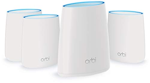 NETGEAR Orbi Home WiFi System. Up to 8,000 sq ft AC2200 (RBK44)