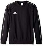 adidas Juniors' Core 18 Soccer Sweatshirt, Power