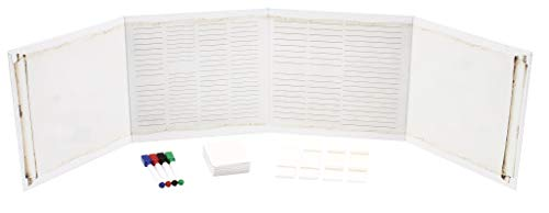 Games Screen Masters (Forged Dice Co Game Masters GM Screen and Grid Pattern Expansion Dry Erase Gameboard with Dry Erase Cards - Compatible with RPG Tabletop DND Games)