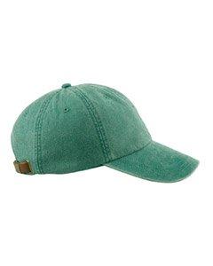Adams Optimum Pigment Dyed Twill Cap (Forest) (ALL)