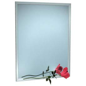 ASI Stainless Steel Angle Frame Mirror - 18