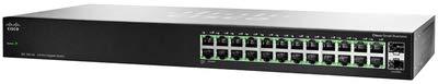 Cisco SG100-24-NA 24 Port Gigabit Switch with 2 Combo Mini-G
