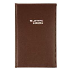 Office Depot Vinyl Desk Telephone/Address Book, 5 1/8in. x 7 3/4, N20105276