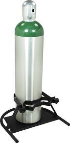 Large Oxygen Tank Cylinder Floor Stand