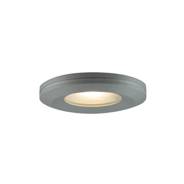 Jesco Lighting PK404BA Beveled-edged Slim Disk, Brushed - Slim Disk Edged