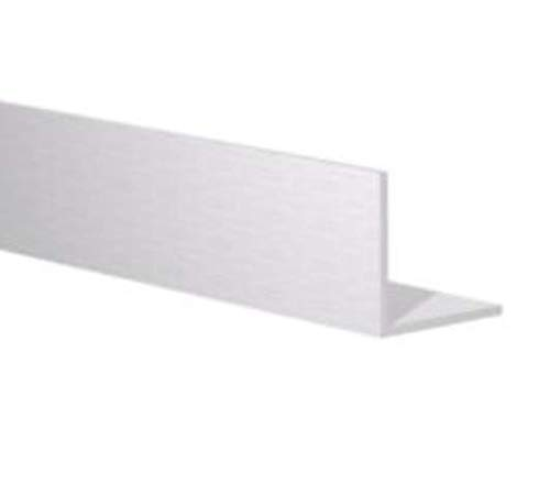6 FT 1 x 1//16 Aluminum Angle 6063 Alloy T-6 Temper Clear Anodized