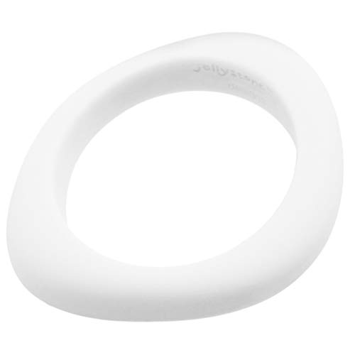 - Jellystone Designs Organic Bangle - Silicone Jewelry (Teething/Nursing) (snow white)