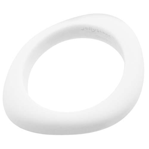 (Jellystone Designs Organic Bangle - Silicone Jewelry (Teething/Nursing) (snow white))