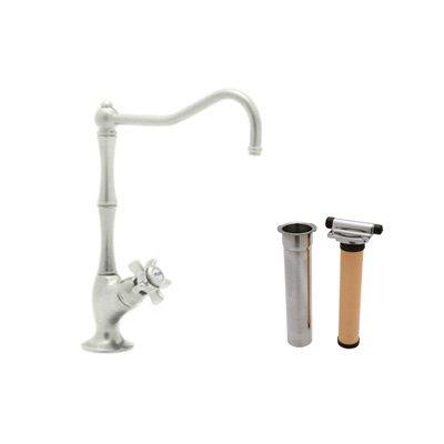 Rohl AKIT1435XPN-2 Country Kitchen Column Spout Filter Faucet with Filter Package Country Kitchen Column Spout Filter