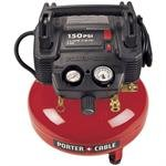 Porter-Cable C2002R 150 PSI 6 Gallon Oil-Free Pancake Compre