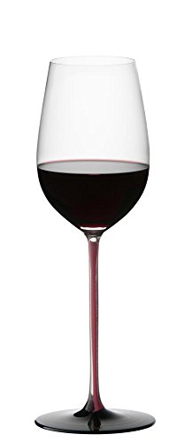 Riedel Sommeliers Black Series Riesling Grand Cru Glass, Red/Black