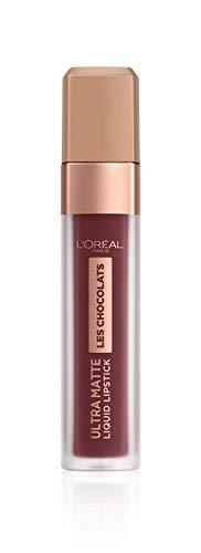 L'Oreal Paris - Labial Liquido Mate Infallible Chocolates, color Cacao Crush 868, 7.6ml