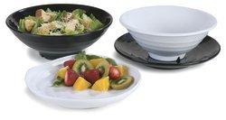 Carlisle 4341002 Terra Dinnerware Melamine Square Dinner Plate, 8.91