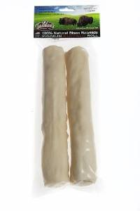 All-Natural Buffalo Rawhide Rolls - 2 Large Rolls by Tasman's Natural Pet