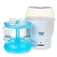 avent baby bottle sterilizer instructions