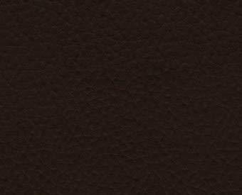 1 Metro de Polipiel para tapizar, Manualidades, Cojines o forrar Objetos. Venta de Polipiel por Metros. Diseño Vulco Ignífugo Color Marrón Ancho 140cm