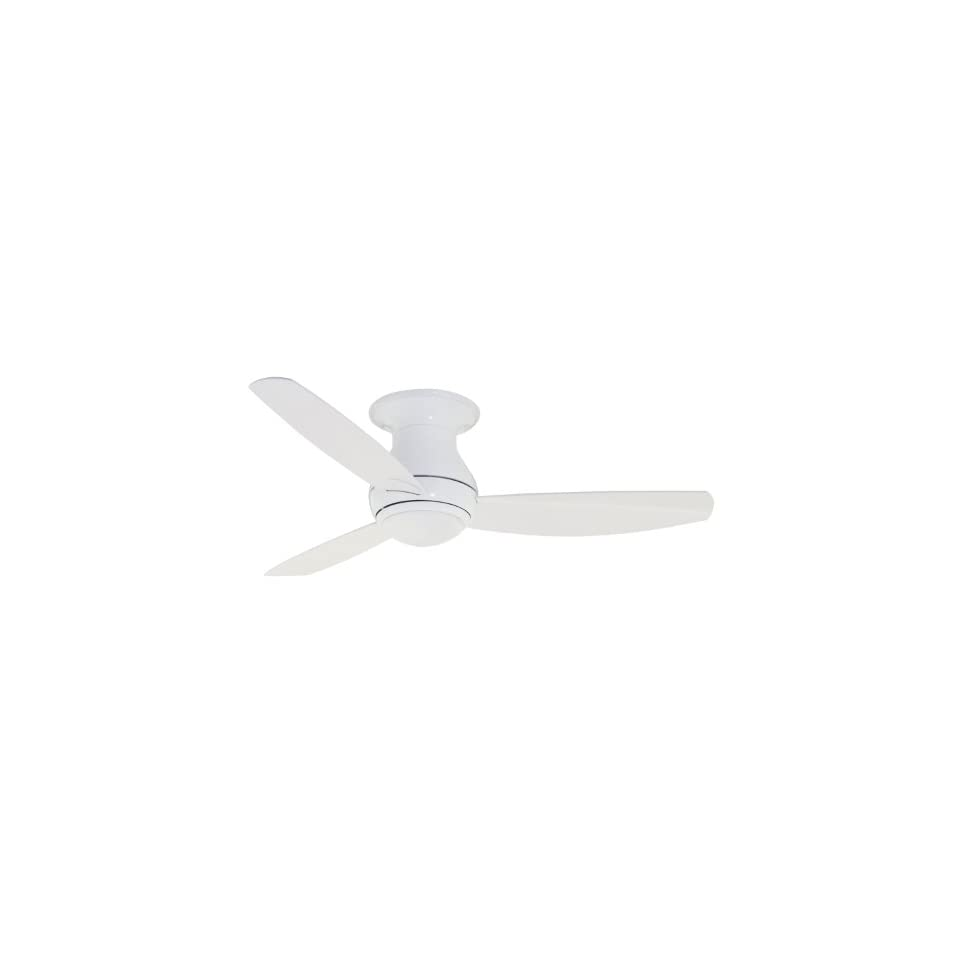 Emerson CF144WW Curva Sky Indoor/Outdoor Ceiling Fan, 44 Inch Blade Span, Appliance White Finish and All Weather Appliance White Blades