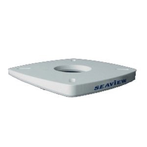 Seaview 4 Degree Wedge for 7 x 7'' Mount, White, PM-W4-7 by SEAVIEW