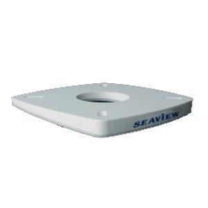 Seaview 4 Degree Wedge for 7 x 7'' Mount, White, PM-W4-7