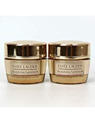 Lot 2 x Estee Lauder Revitalizing Supreme+ Global Anti-Aging Cell Power Creme 0.5 oz / 15 ml each, 1 oz / 30 ml total ()