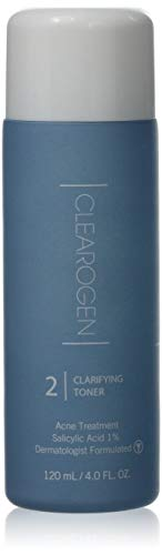 Clearogen Clarifying Toner for acne and blemishes, Natural Ingredients, Fresh Botanical, Unclogs pores and balances oil production – 4.0 fl. oz.